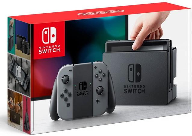 《中古本体》Nintendo Switch Joy-Con(L)/(R) グレー